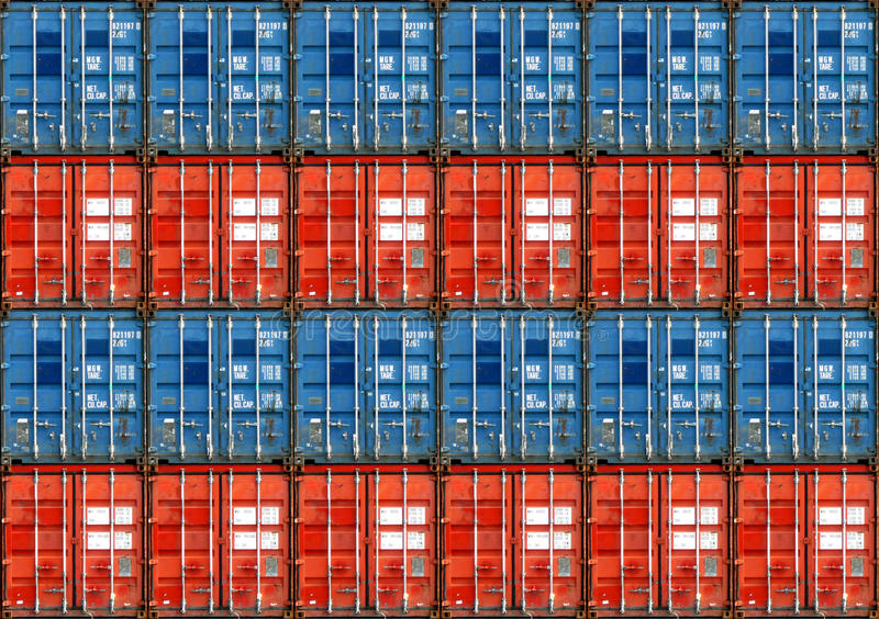 Shipping Containers stock images