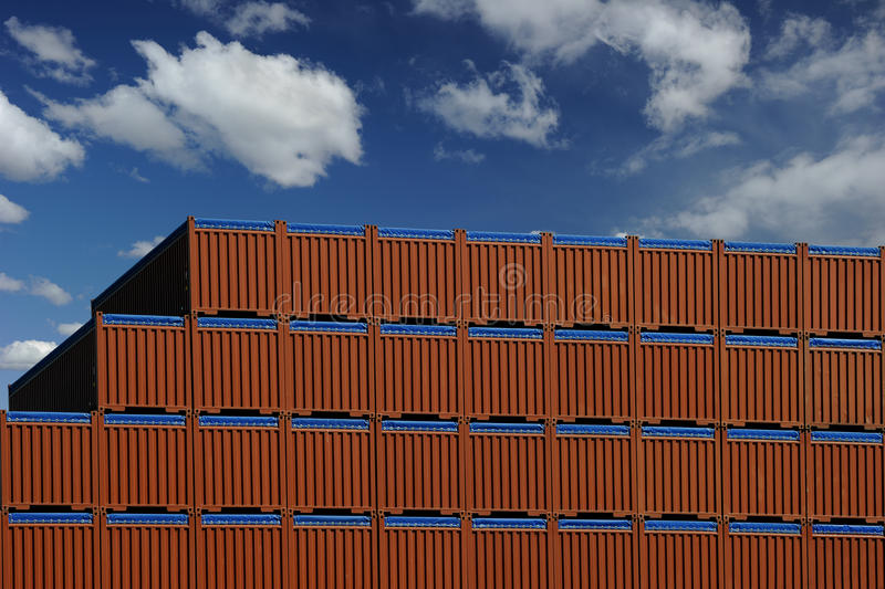 Download Shipping Containers stock photo. Image of equipment, industry - 25191330