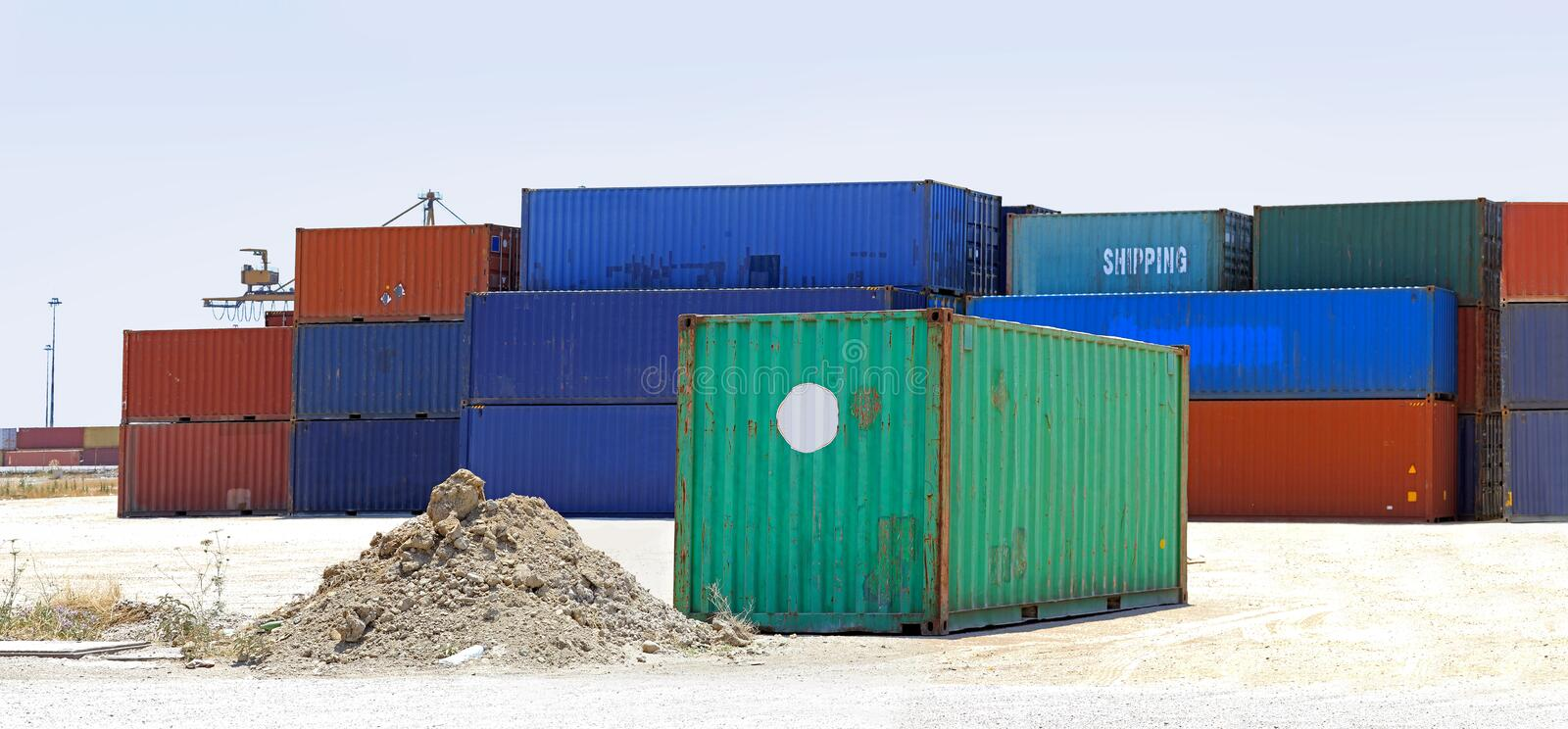 Download Shipping containers stock photo. Image of containers - 25281664