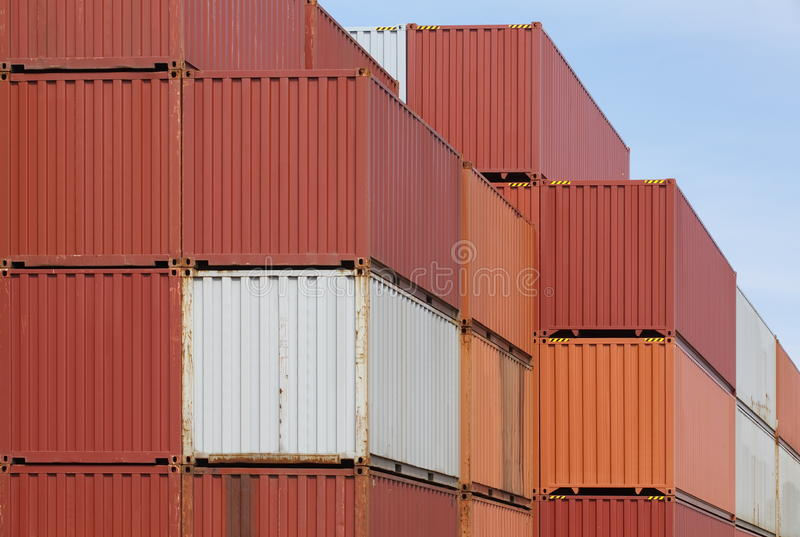 Download Shipping containers stock photo. Image of ocean, commercial - 41359092