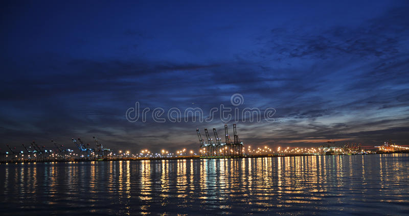 Download Shipping docks stock image. Image of business, industry - 11219329