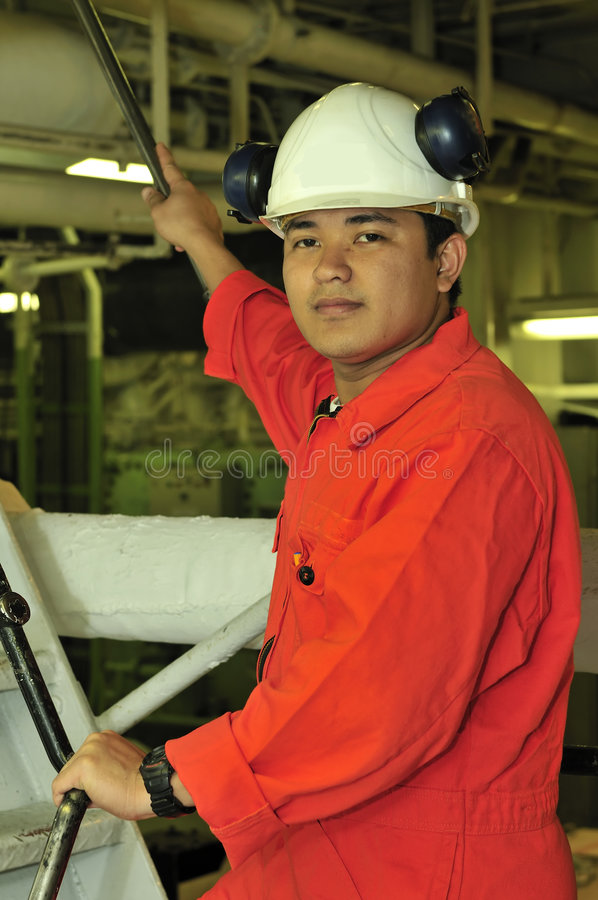 Download A shipping engineer stock photo. Image of efficiency, helmet - 5985998