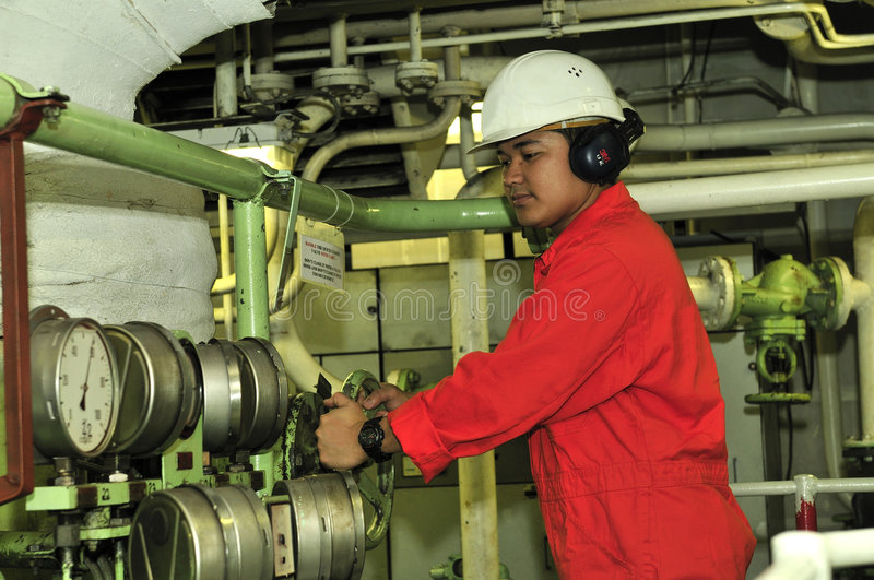 Download A shipping engineer stock image. Image of apprentice, manager - 5989225