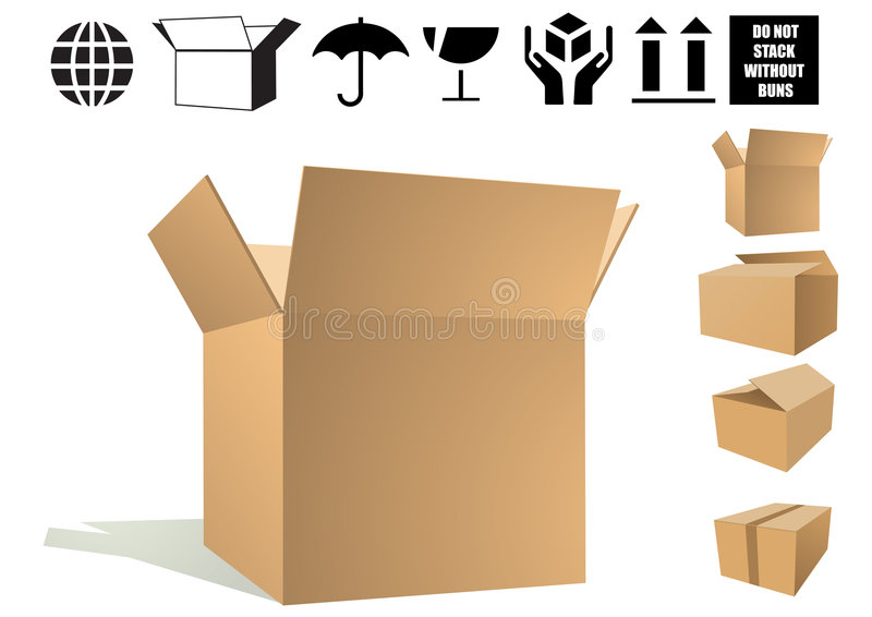 Shipping Icon royalty free illustration
