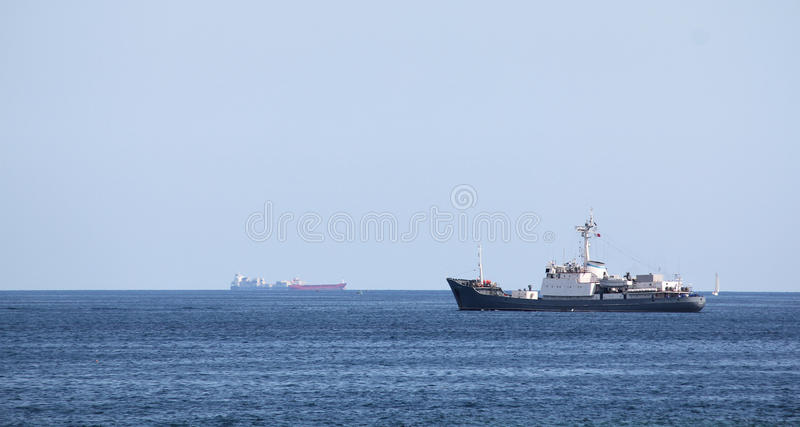 Shipping industry royalty free stock photography