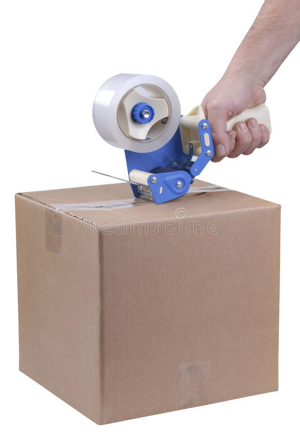 Shipping Package stock photos