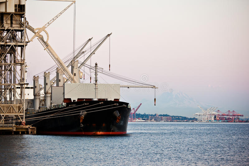 Download Shipping Port Stock Image - Image: 10448261