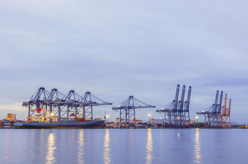 Shipping port, Shipping Industry royalty free stock photography