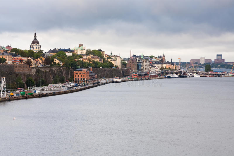Download Shipping Terminal In Stockholm Stock Photo - Image: 21802510