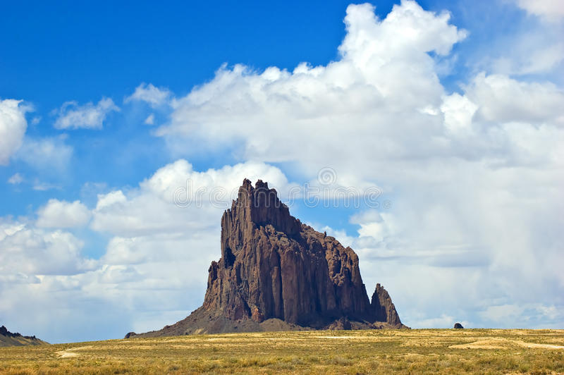 Download Shiprock stock photo. Image of monolith, landmark, sacred - 19471638