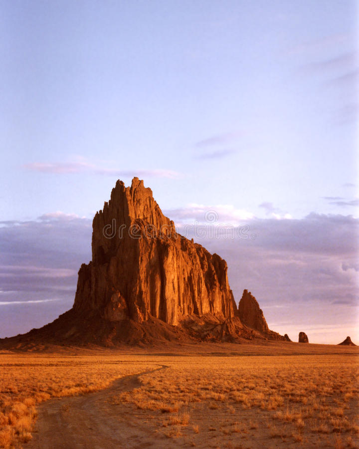 Shiprock, New Mexico immagine stock