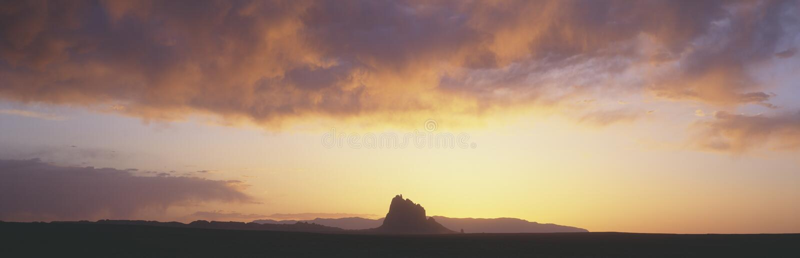 Shiprock Peak Royalty Free Stock Photo