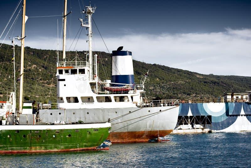 Download Ships stock photo. Image of ships, aquatic, yard, cargo - 4913102