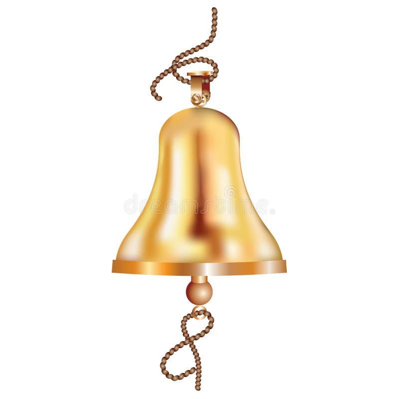 Ships_bell stock illustratie