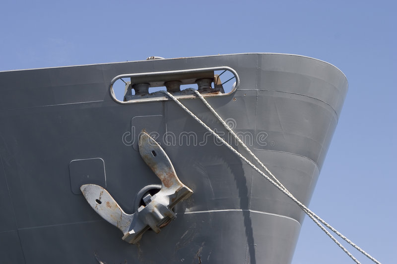 Ships Bow stock photography