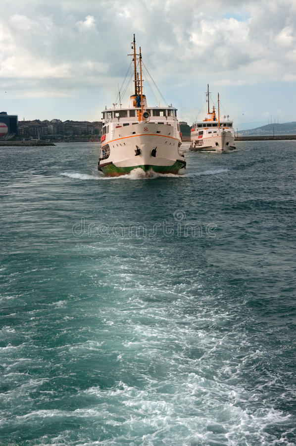 Download Ships in Istanbul stock image. Image of water, turkish - 25206643
