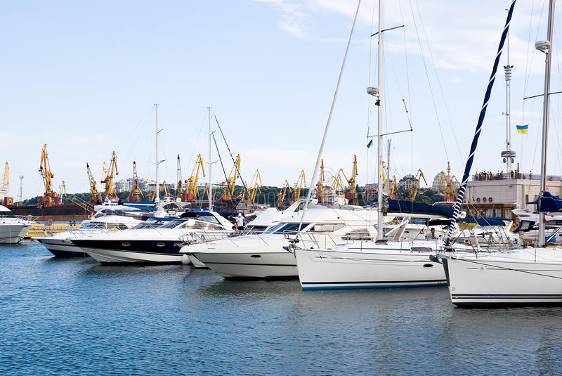 Download Ships In Port Stock Photos - Image: 25521063