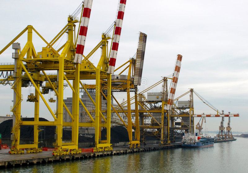 Download A Ships In The Port Of Venezia Stock Photo - Image: 8826256