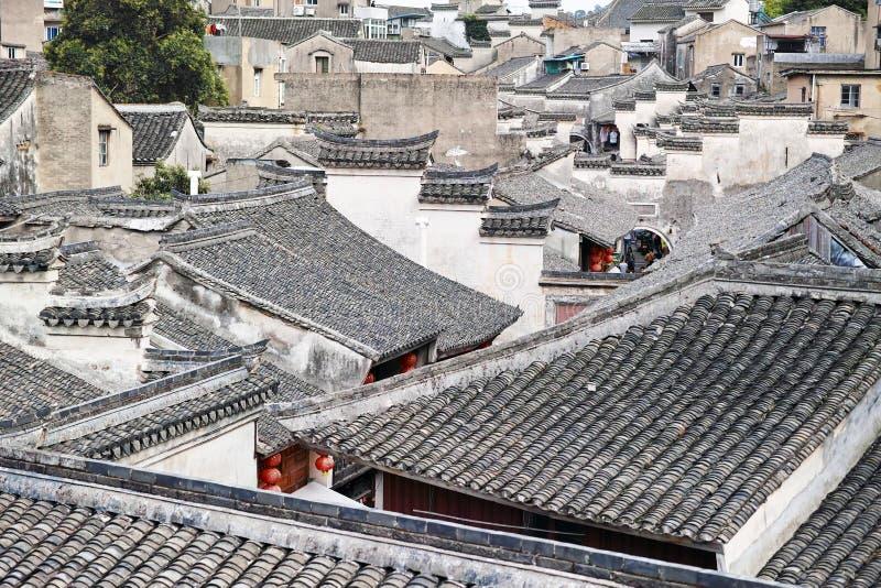 Shipu Old Town at Fujian China stock photography