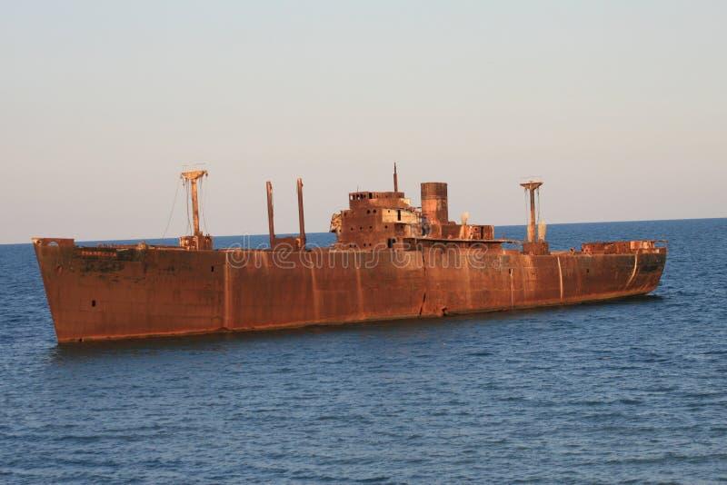Shipwreck 1 royalty free stock photos
