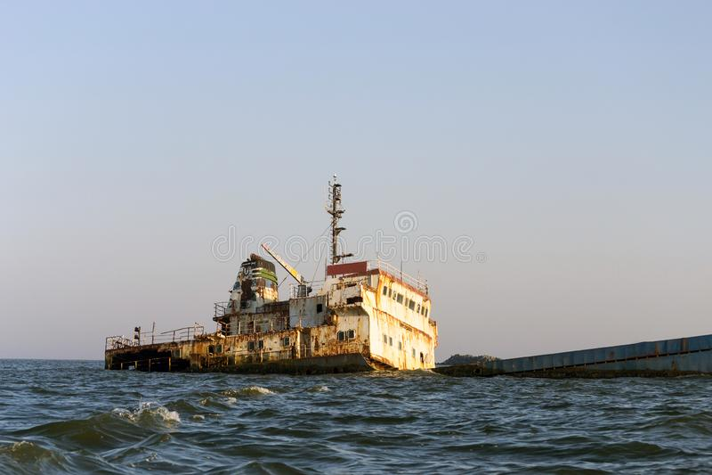 Shipwreck foto de stock