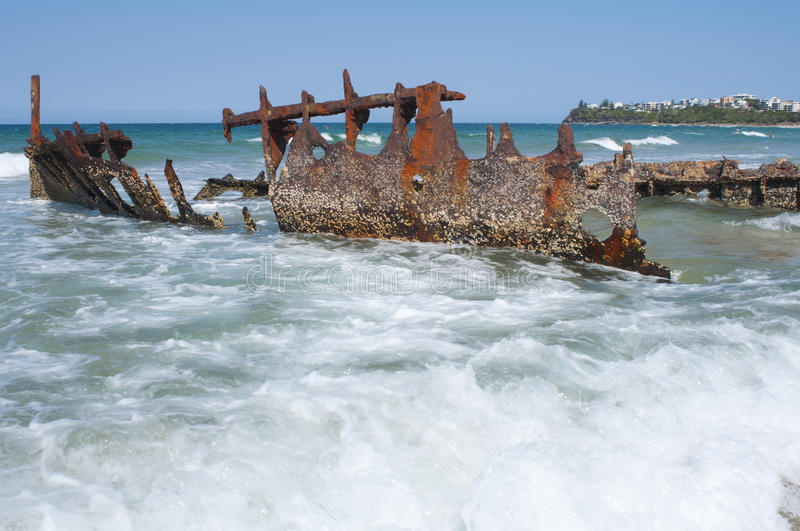 Shipwreck royalty free stock photos