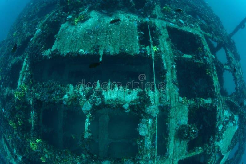 Shipwreck Baron Gautsch obraz stock