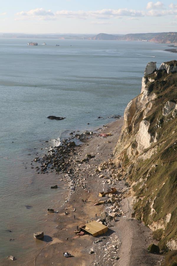 Shipwreck de Napoli fotografia de stock