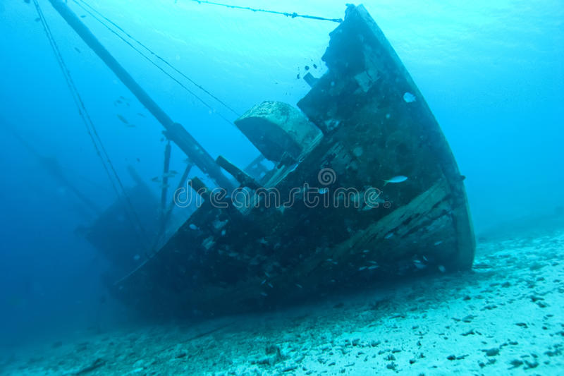 shipwreck drewniany zdjęcie stock