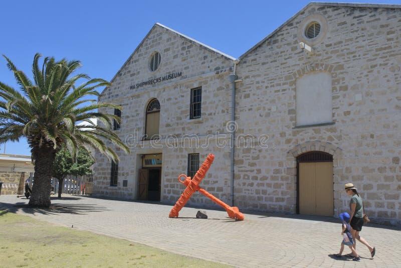 Shipwreck Galleries in Fremantle Perth Western Australia stock photos