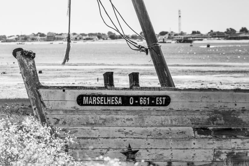 Shipwreck Marselhesa royalty free stock photo