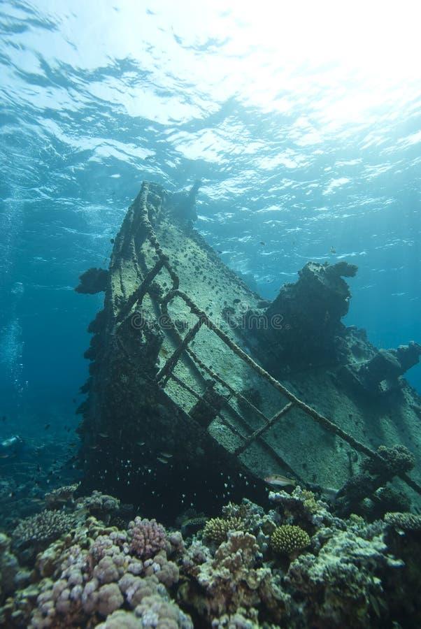 Shipwreck subaquático do Kormoran. imagens de stock