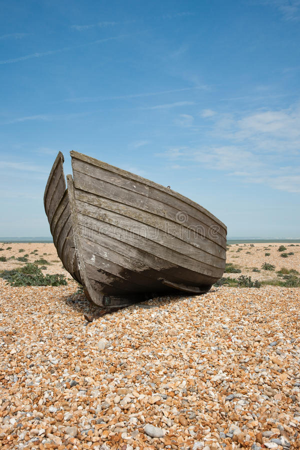 Shipwreck, vertical imagens de stock royalty free