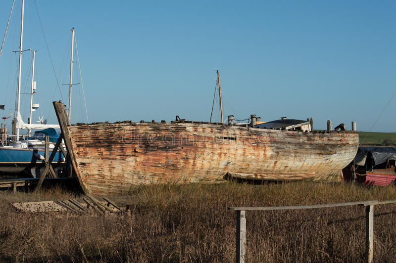 Download Shipwreck or very old boat stock image. Image of lancashire - 86576571