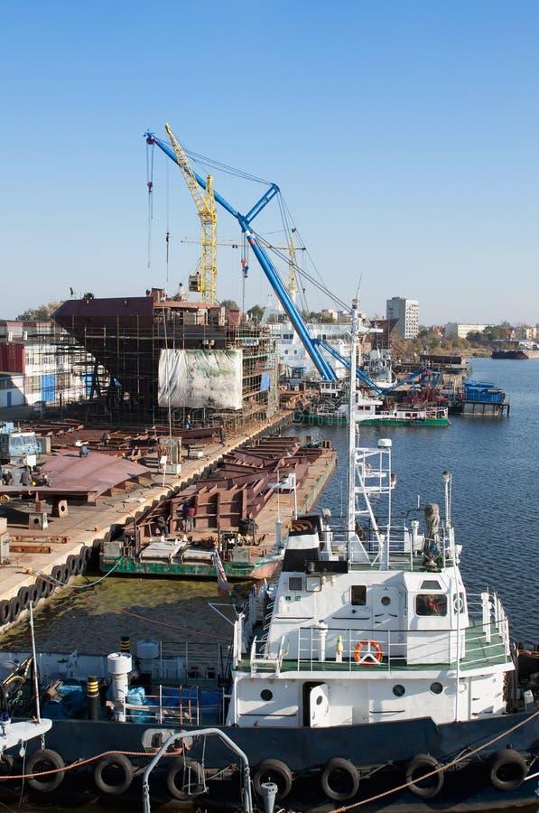 Free Shipyard Stock Images - 16549964