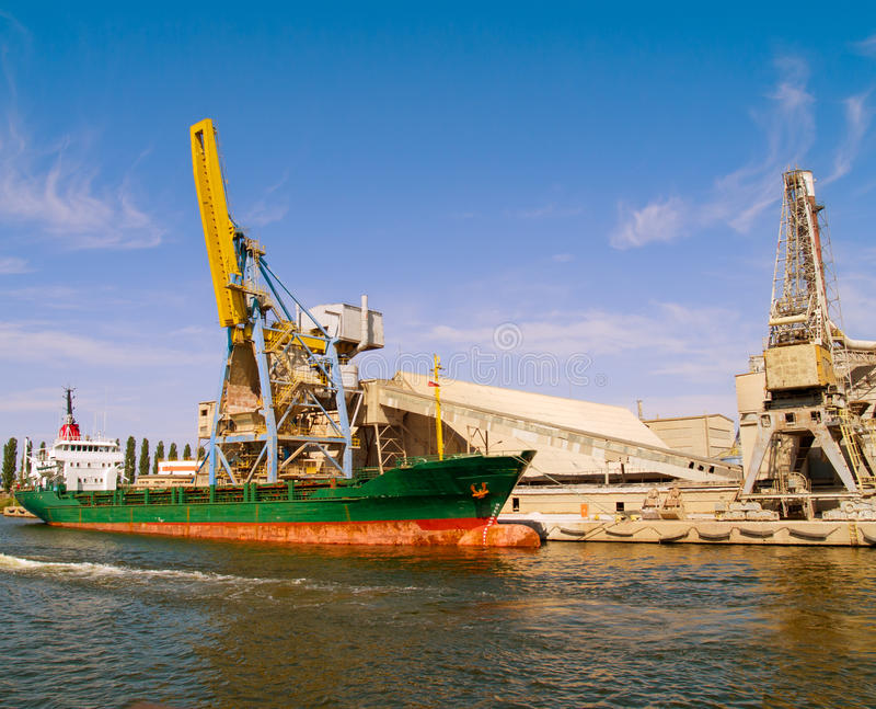 Download Shipyard stock photo. Image of overhauling, graving, cranes - 20298752
