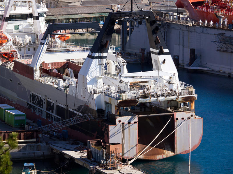 Download Shipyard Royalty Free Stock Images - Image: 23606859