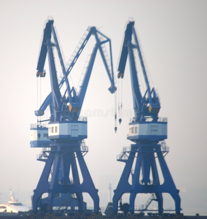 Shipyard royalty free stock photos
