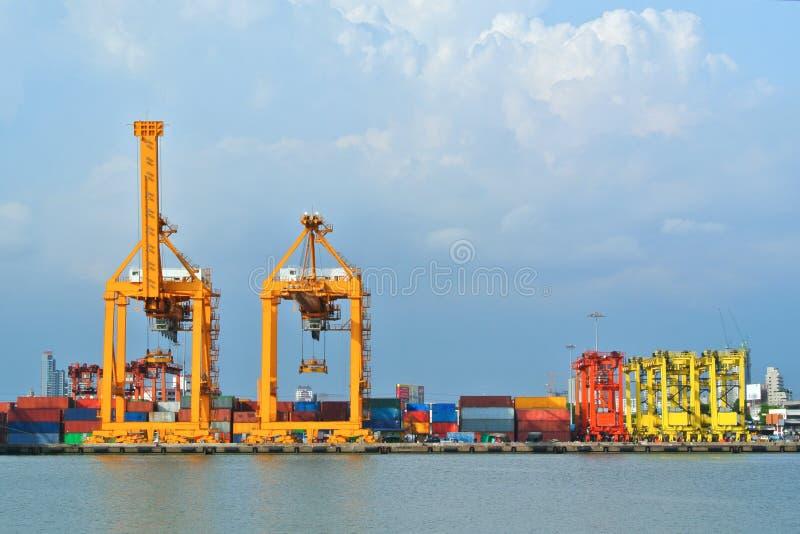 Shipyard Cargo Logistic royalty free stock images