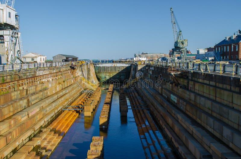 Shipyard royalty free stock image