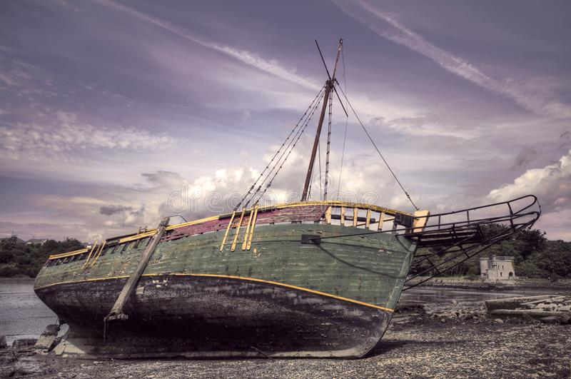 shipyard HDR stock photography