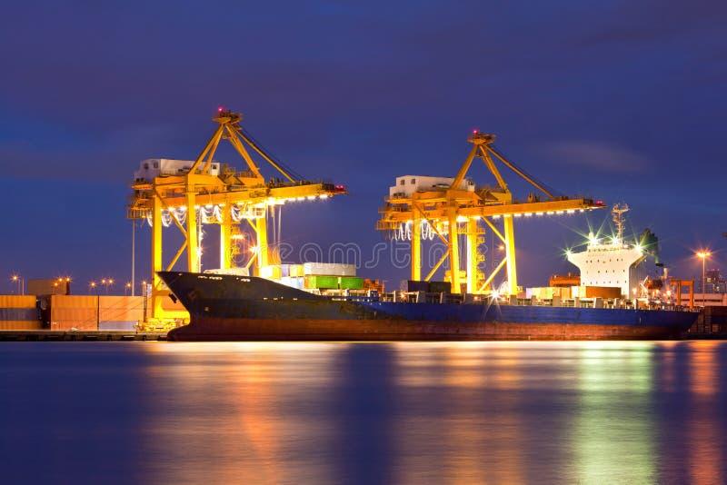 Shipyard Logistic stock photos
