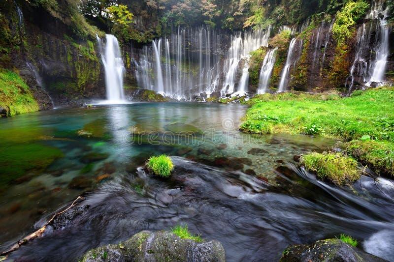 Shiraito cade il Giappone fotografie stock libere da diritti