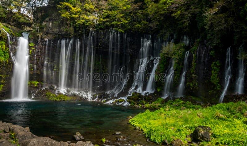 Shiraito Spada Japonia - Fuji - zdjęcia royalty free