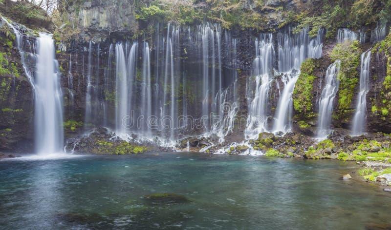 Shiraito Waterfall 2 stock photos