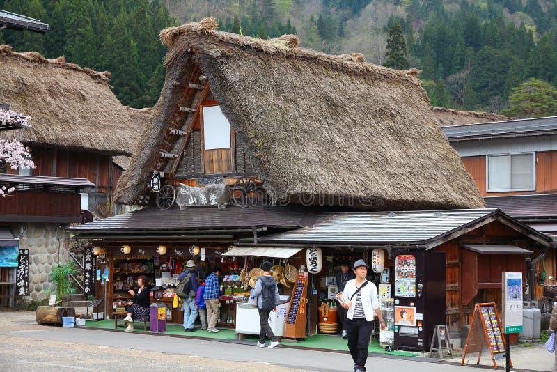 Shirakawa-πηγαίνετε, Ιαπωνία στοκ εικόνες