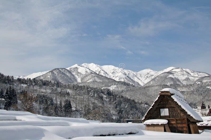 Shirakawa-allez photographie stock libre de droits