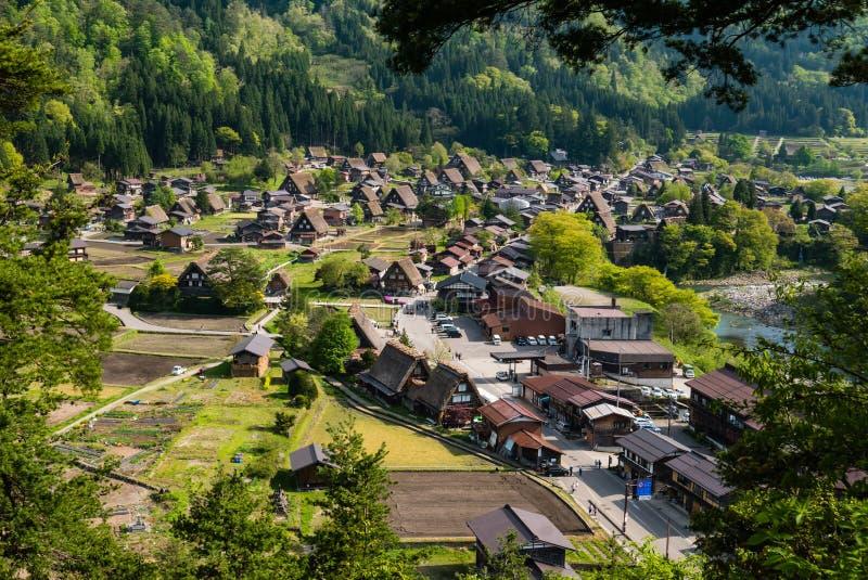 Shirakawa-ga stock fotografie