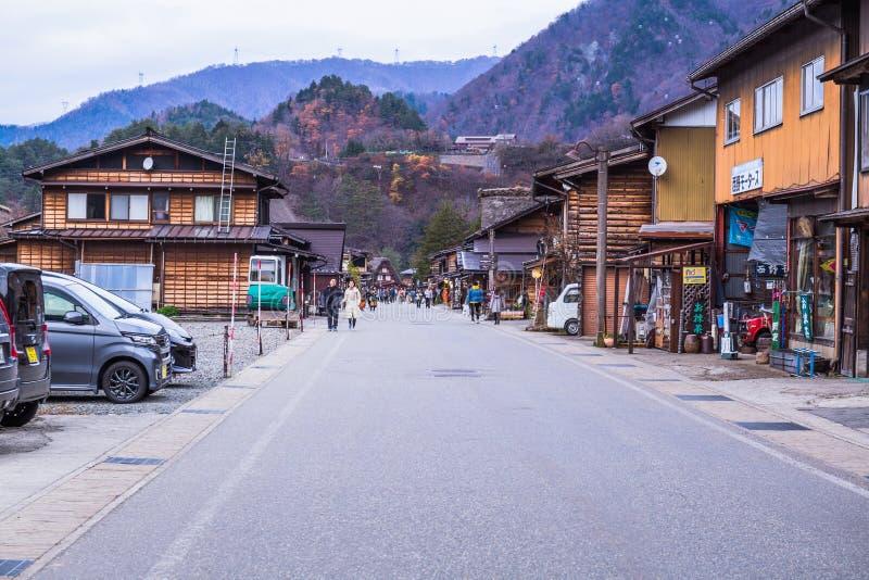 Shirakawa gaat stock foto's