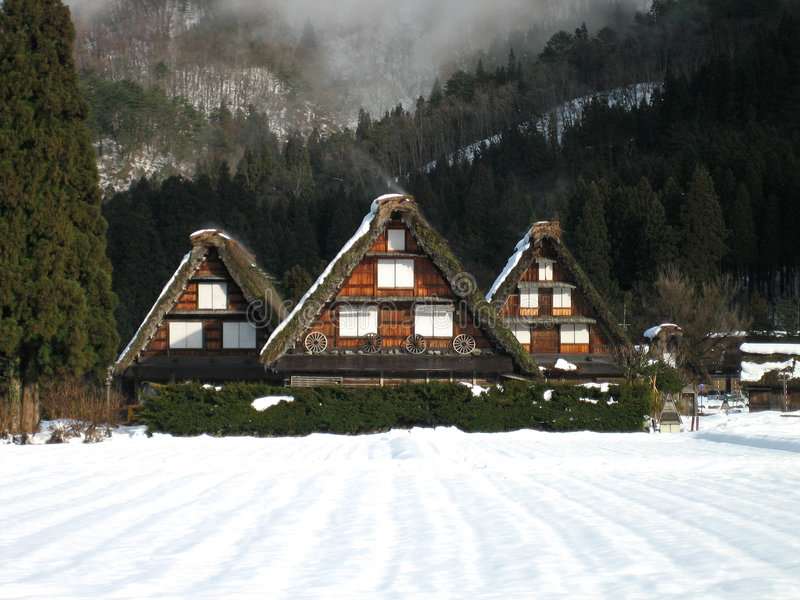 Download Shirakawa-go stock photo. Image of alps, farmhouse, hill - 2880040